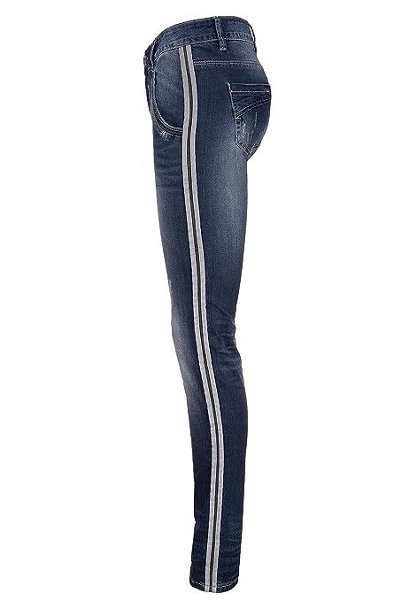 damen jeans mit seitenstreifen sch ne jeansmodelle. Black Bedroom Furniture Sets. Home Design Ideas
