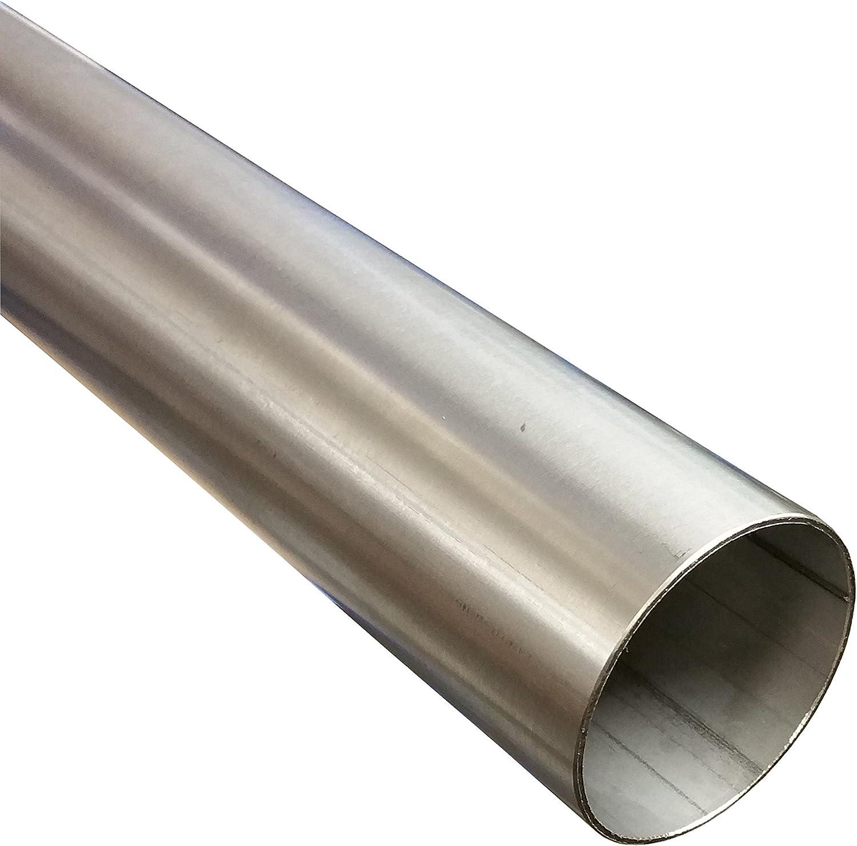 Tubo in acciaio inox V2 A tubo di scappamento in acciaio inossidabile 1 m /Ø 60 mm x 1000 mm 1.4301.