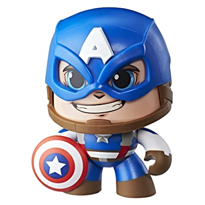 Marvel Mighty Muggs Captain America #1: Hasbro: Toys & Games