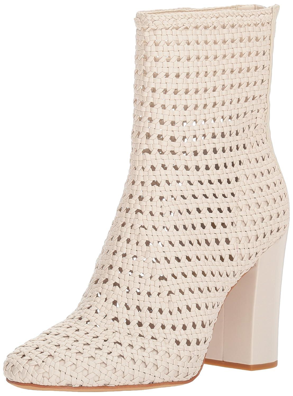 Dolce Vita Women's Scotch Ankle Boot B077QN3RGZ 9 B(M) US|Ivory Woven