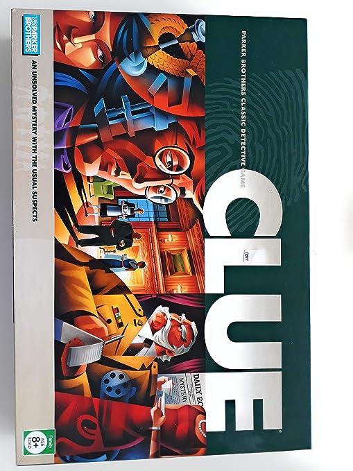 47fc37d0b75 Amazon.com: CLUE Detective Game (2005 Edition): Toys & Games
