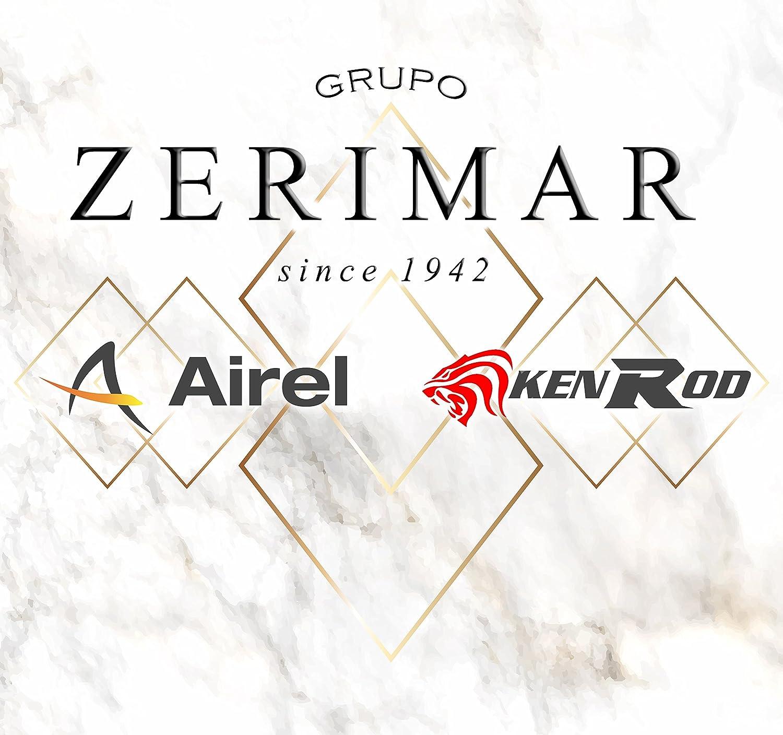 Zerimar KENROD Pantal/ón de moto para mujer Material de cordura e impermeable Color negro Talla S