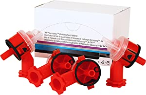 3M Accuspray Atomizing Head, 16609, Red, 2.0 mm, 4 per kit