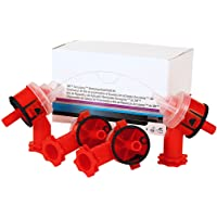 $20 » 3M Accuspray Atomizing Head, 16609, Red, 2.0 mm, 4 per kit