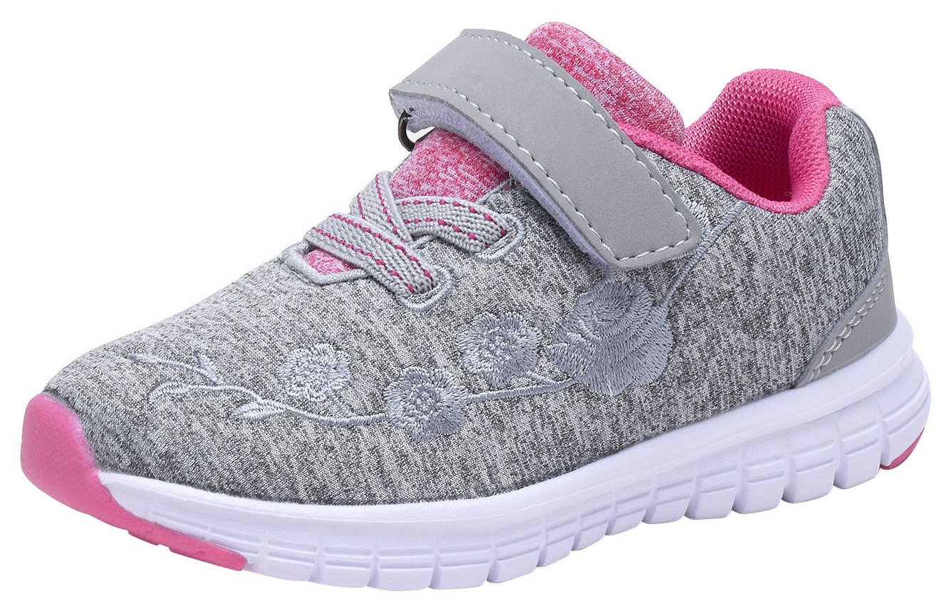 G GEERS OS002 Toddler Running Sneakers little Girl's Colorful Mesh Shoes GREY-6