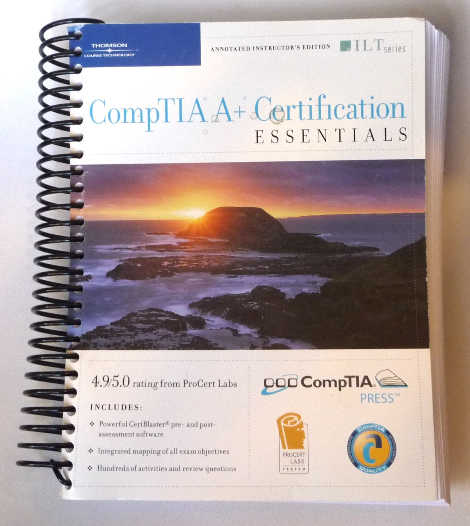 Comptia A Certification Essentials Annotated Instructors Edition