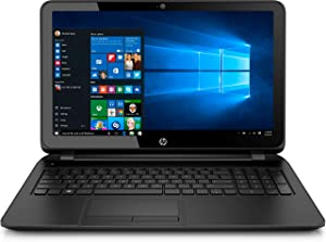 "2019 New HP 15.6"" HD High Performance Laptop PC, Intel Celeron N2840 Processor, 4GB RAM, 500GB HDD, DVD Writer, WiFi, Webcam, Intel HD Graphics, Windows 10 - Black"