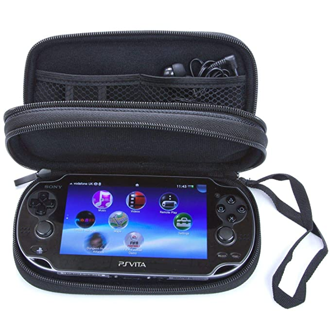 Double Compartment Carry Case For PS Vita: Amazon.es ...