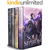 Soul Siphon: Set includes four books: Midnight Blade, Kingsbane, Ash and Steel, Sentinels of the Stone (Soul Stones)
