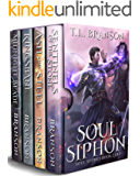 Soul Siphon: Set includes four books: Midnight Blade, Kingsbane, Ash and Steel, Sentinels of the Stone (Soul Stones) (English Edition)