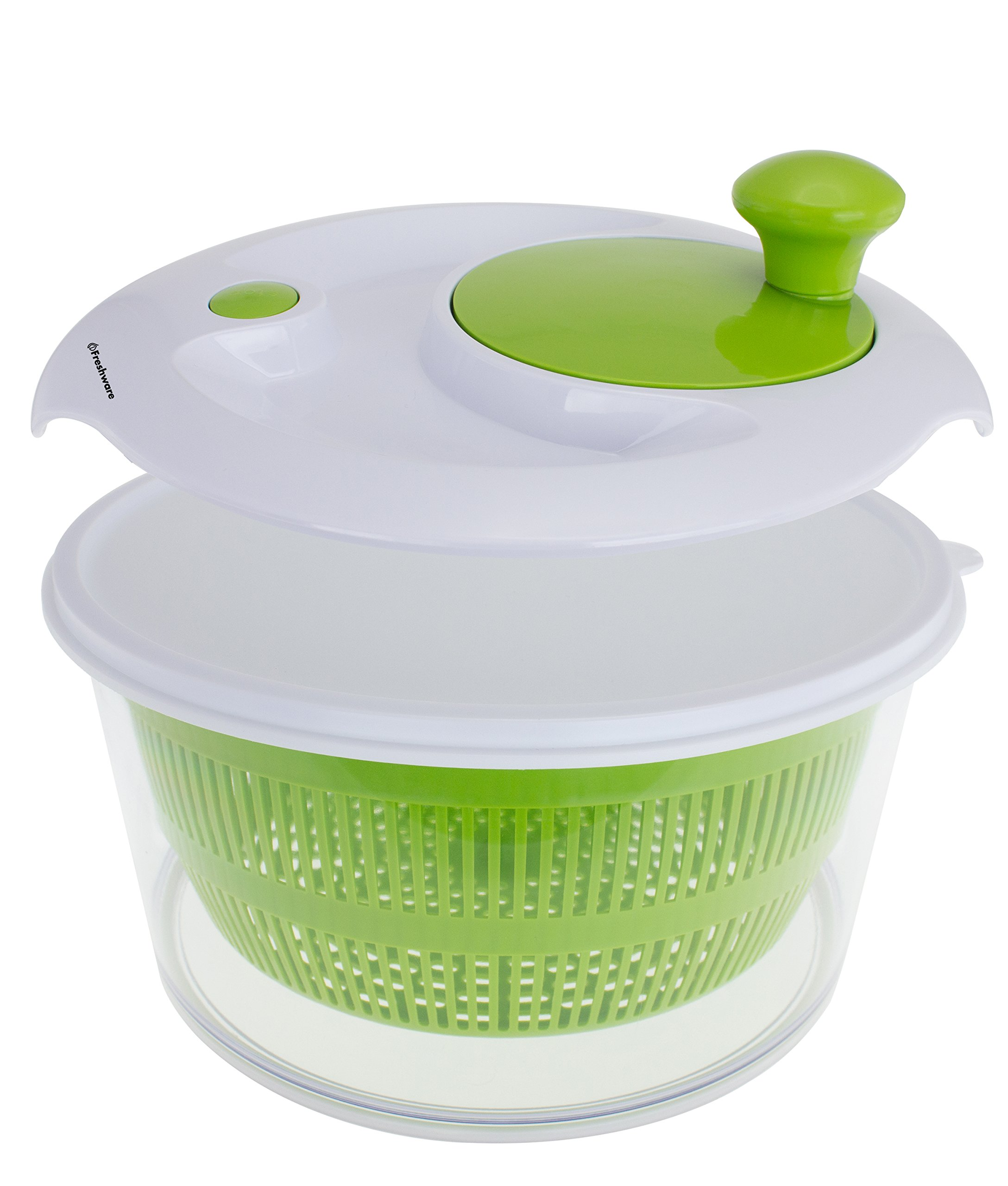 Freshware KT-503 Salad Spinner with Storage Lid