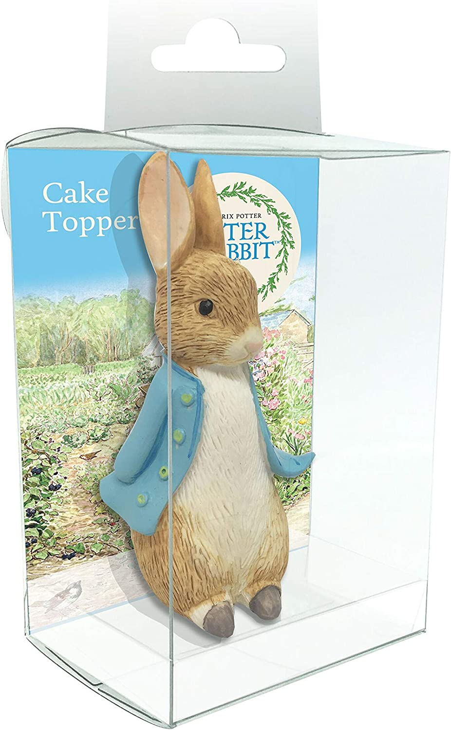 Amazon Com Creative Party Bu295 Peter Rabbit Resin Cake Topper Luxury Boxed 1 Pc Toys Games