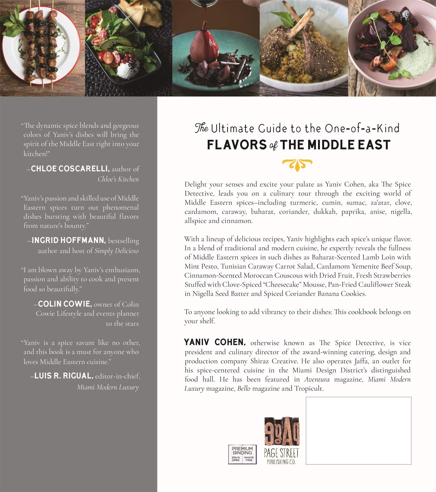 My Spiced Kitchen A Middle Eastern Cookbook  Cohen, Yaniv ...