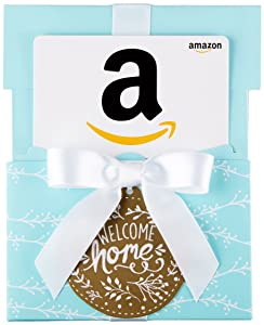 Amazon.com Gift Card in a Welcome Home Reveal