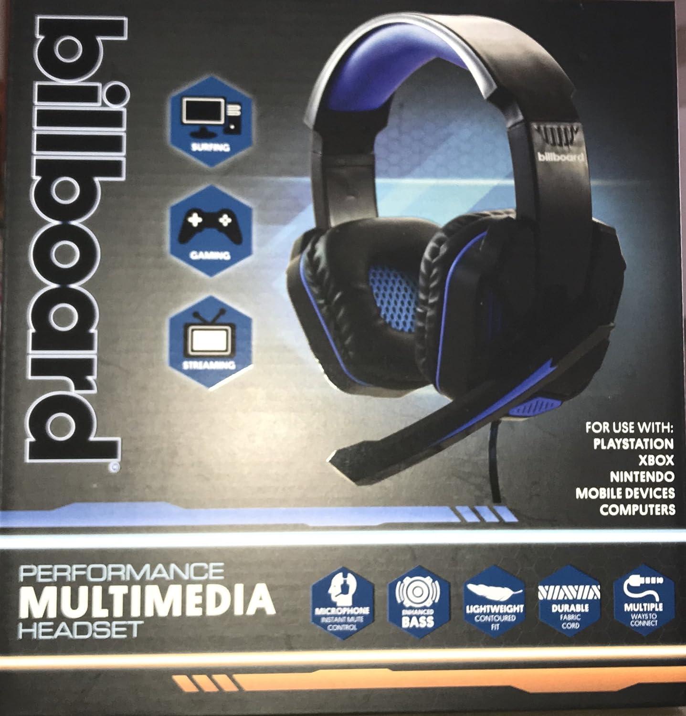Billboard Multimedia Gaming Headset 8Cj0V