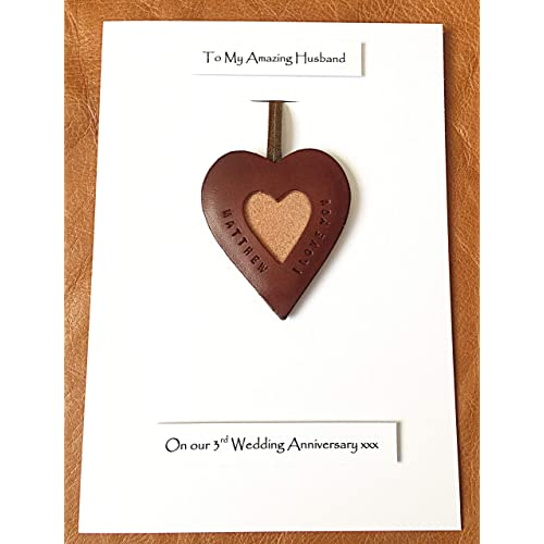 3rd Wedding Anniversary Leather Gifts: 3rd Wedding Anniversary Gifts For Husband: Amazon.co.uk