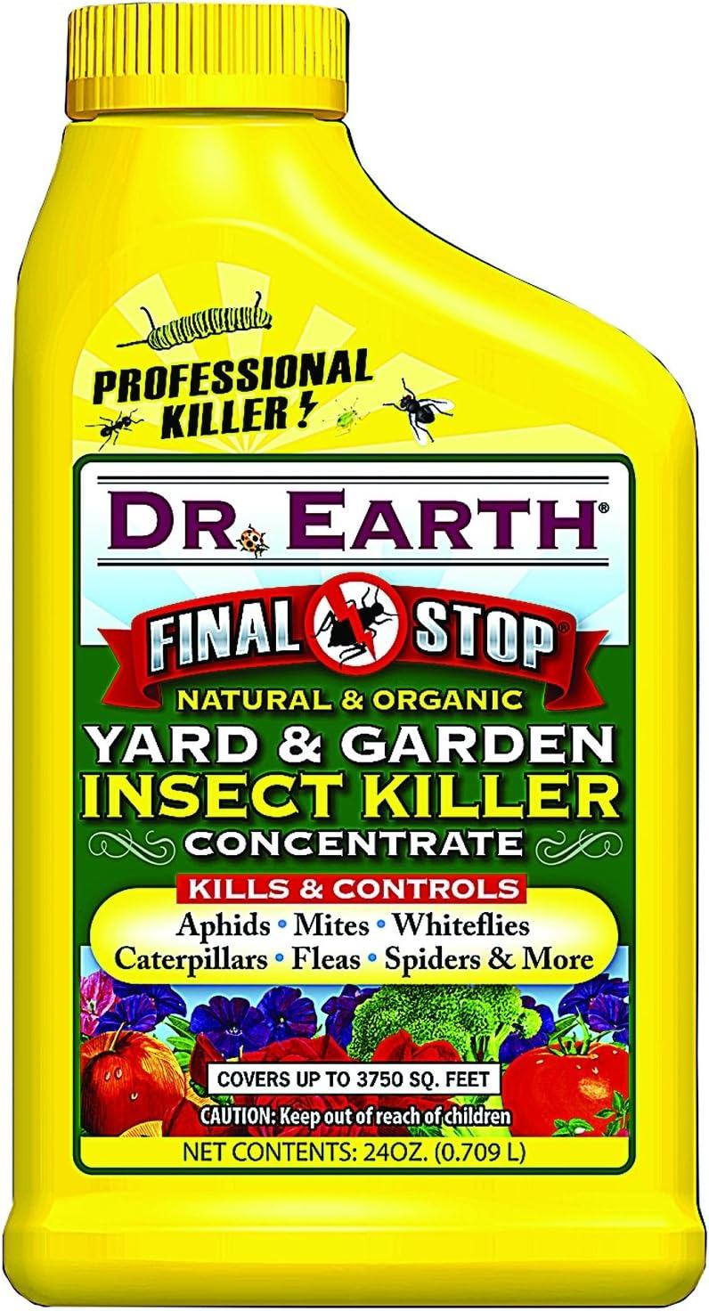 Dr. Earth 1022 Garden Insect Killer, 24-Ounce