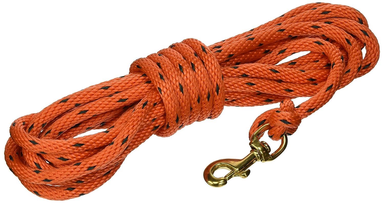 orange Black 20' orange Black 20' OmniPet 20' Check Cord, orange Black, X-Small
