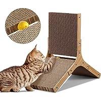Cat Scratching Board Cat Tree Scratcher Pad Lounge Toy Furniture Corrugated Cardboard