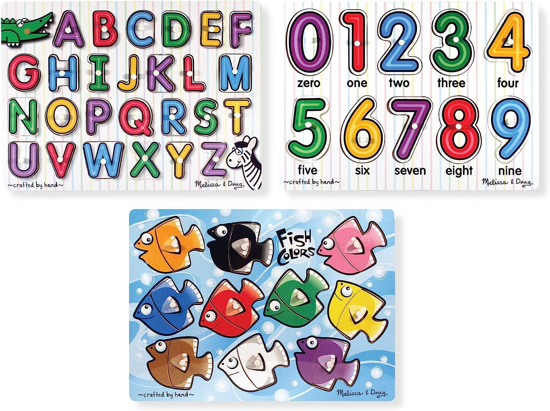 B000KWJSKG Melissa & Doug Classic Peg Puzzle Bundle (3 Puzzle Bundle) 81mAgsB8aOL