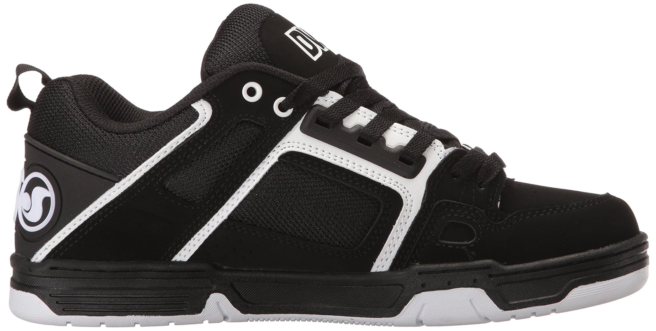 DVS Men's Comanche Skate Shoe, Black/White Nubuck, 12 Medium US by DVS (Image #7)