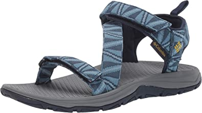 Columbia Men's Wave Train Sandal,whale, antique moss,11 Regular US