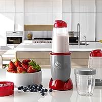 ECODE Batidora de Vaso Titanblade Dieta Mix Smoothies licuadora para Batidos Frutas y Verduras Vasos Intercambiables con…