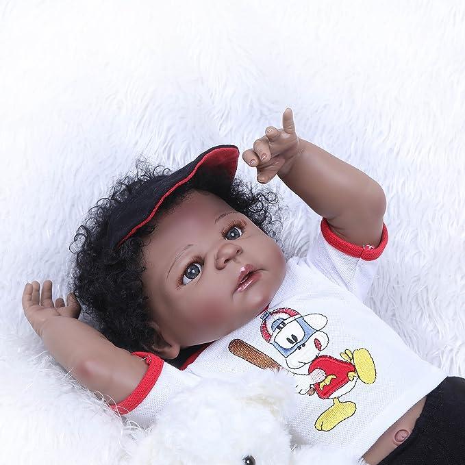 Amazon.com: Muñeca Angelbaby de 22.4 in para bebé recién ...