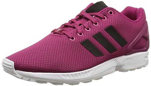 best service dfd6c cf56b Adidas, Men, , zx flux, multi (power pink s12 core black