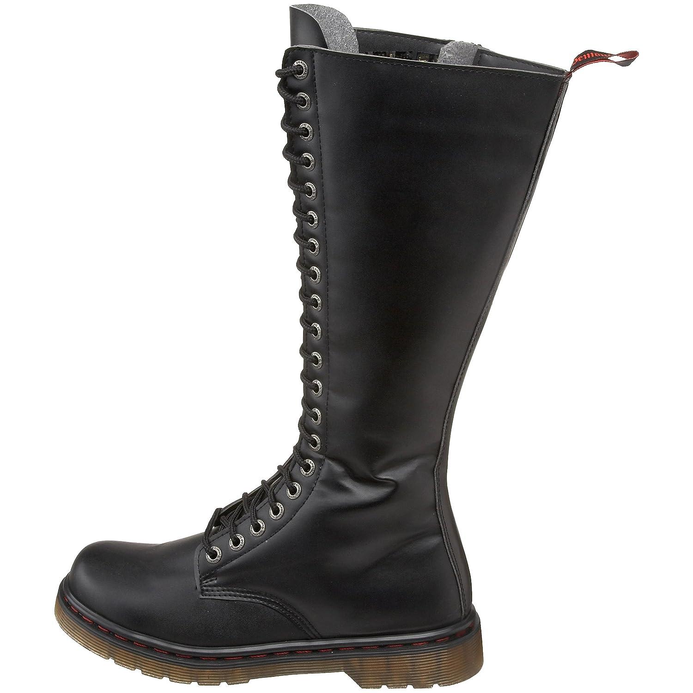 ccc41747000 Amazon.com | Pleaser Men's Disorder-400/B Boot, Black Polyurethane ...