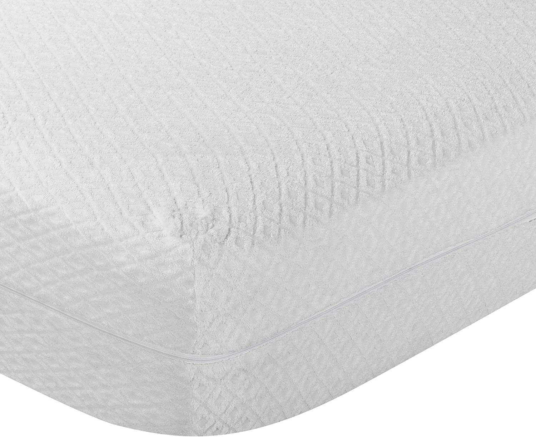 Pikolin Home - Funda de colchón rizo, antialérgico (antiácaros, bacterias y antimoho). 90x190/200cm-Cama 90 (Todas las medidas)