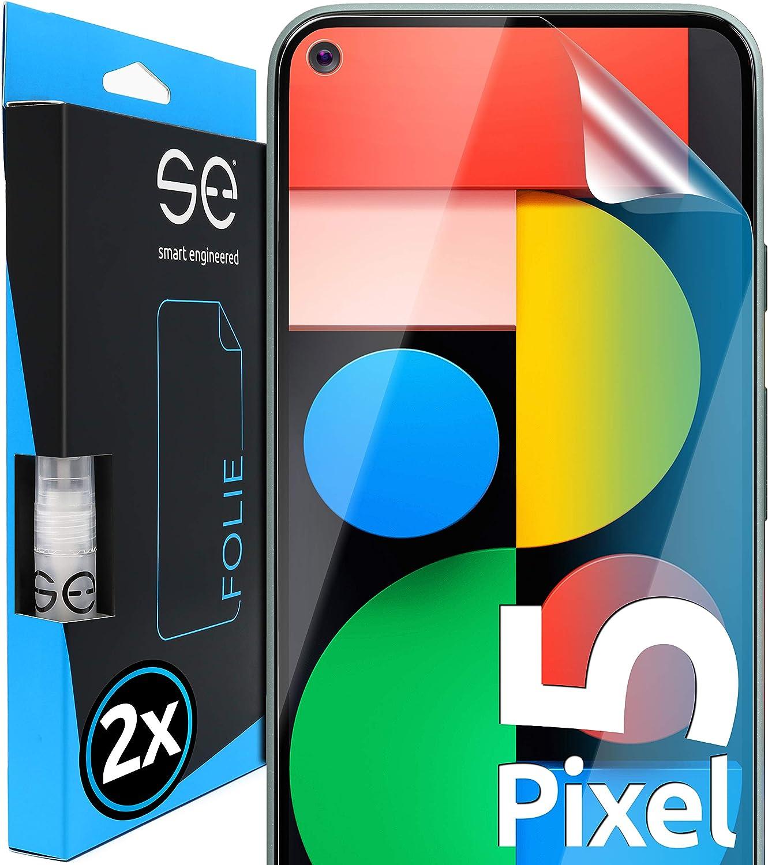 Smart Engineered 2 Stück 3d Schutzfolien Kompatibel Mit Google Pixel 5 Hüllenfreundliche Transparente Hd Displayschutz