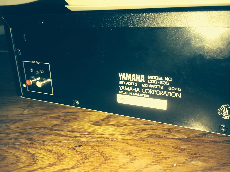 Amazon.com: YAMAHA CDC-635 - Cambia de reproductor de CD con ...