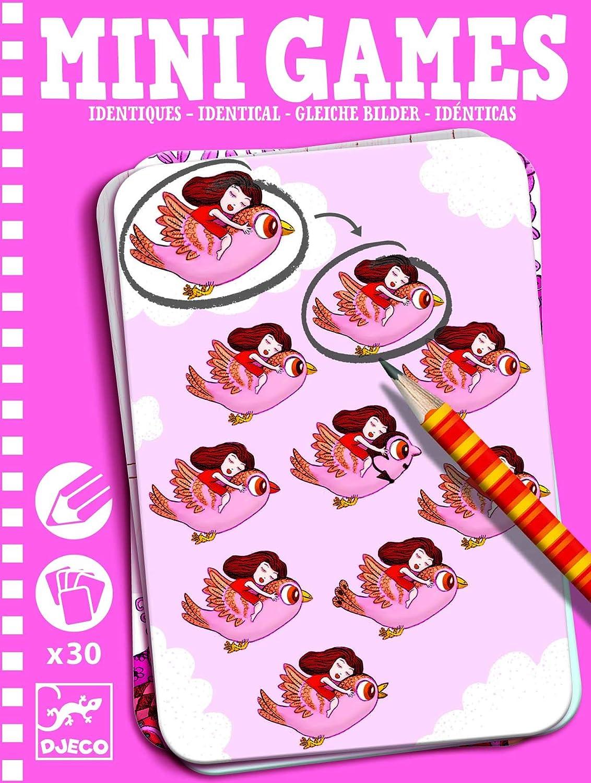 Mini Juego-Los Identicos de Alicia-Djeco: Amazon.es: Juguetes y juegos