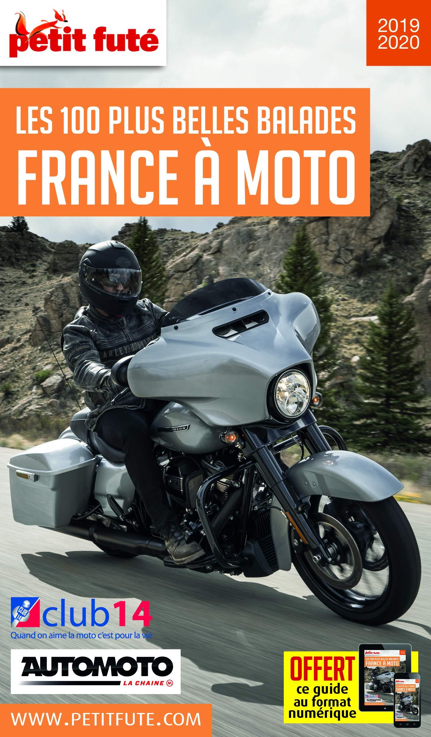 Amazon Fr Guide France A Moto 2019 Petit Fute Petit Fute Livres