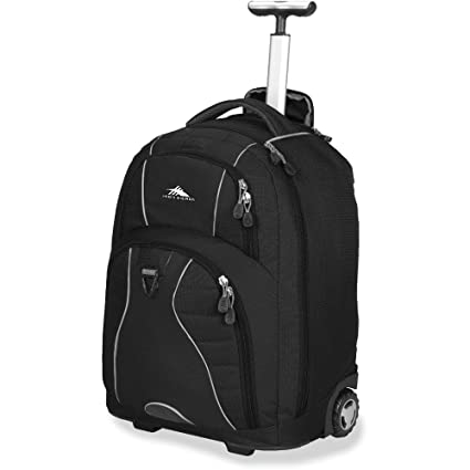 Amazon.com  High Sierra Freewheel Rolling Backpack  Computers ... d04015fc6db