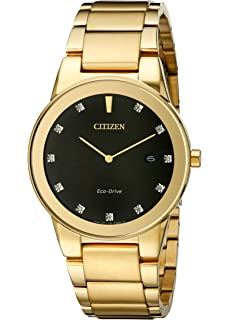 Citizen Eco-Drive Mens AU1062-56G Axiom Gold Watch
