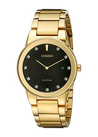 b3a99b110 Image Unavailable. Image not available for. Color: Citizen Eco-Drive Men's  AU1062-56G Axiom Gold Watch