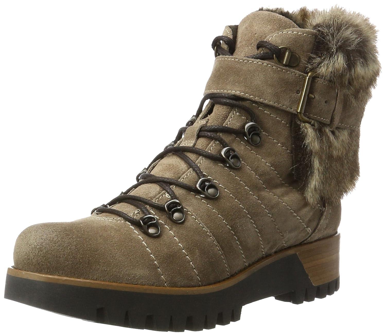 Manas 172m2216elpy, Zapatos de Cordones Brogue para Mujer 41 EU Marrón (Torba+leprato Torba+leprato)