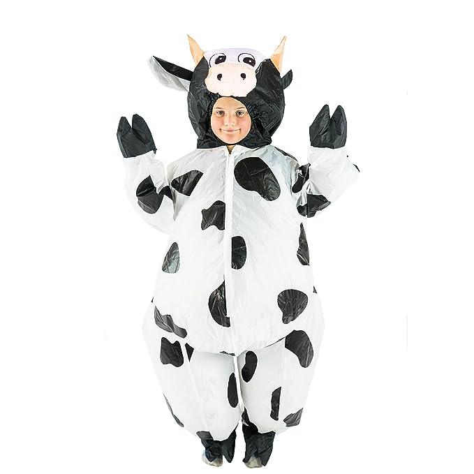Bodysocks® Disfraz Hinchable de Vaca Niño: Amazon.es ...