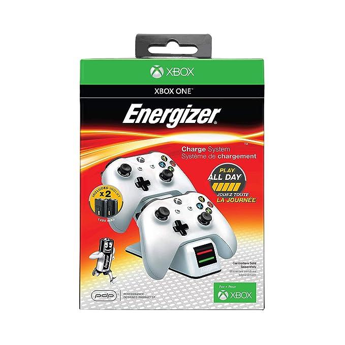 PDP - Cargador Energizer 2 Mandos, Color Blanco (Xbox One ...