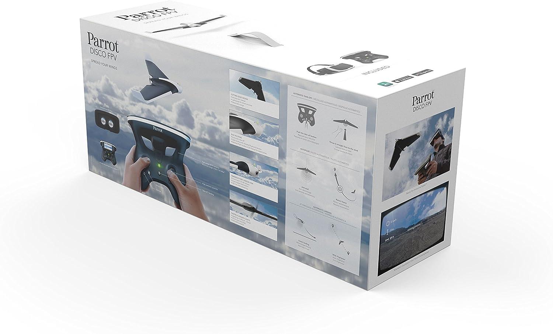 Parrot DISCO FPV - Dron Ala Fija (Full HD 1080P, 14 Mpx, 80 Km/h ...
