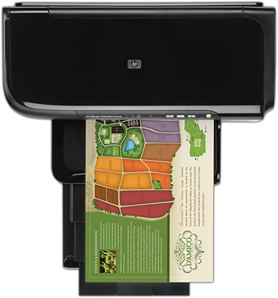 HP Officejet 7000 - Impresora de tinta color (31 ppm, A3): Amazon ...