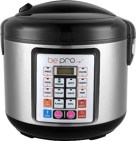 Robot Cocina Programable Be Pro Chef Premier Plus Avant Olla Programable Premier Plus: Amazon.es: Hogar