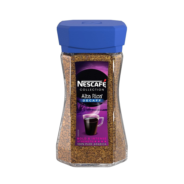 Nescaf? Alta Rica Decaffeinated Coffee 100 g (Pack of 6): Amazon.es: Alimentación y bebidas