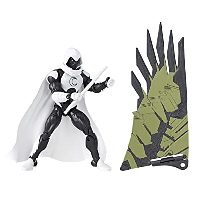 Marvel Legends Spider-Man Moon Knight Action Figure (Build Vulture's Flight Gear), 6 Inches: Toys & Games