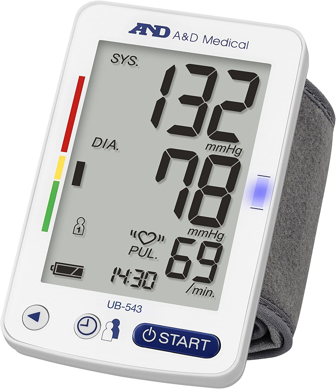 A&D Medical UB-543 Tensiómetro digital de muñeca, validado ...