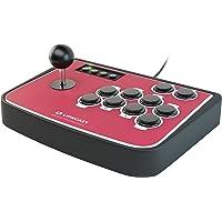 Lioncast Stick Arcade avec Boutons programmable Turbo/Rapid Mode pour PC/Sony Playstation (PS2, PS3)