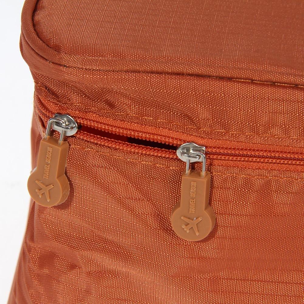 Matefield Organizador de viaje sujetador ropa interior bolsa de cosméticos portátil equipaje almacenamiento: Amazon.es: Belleza