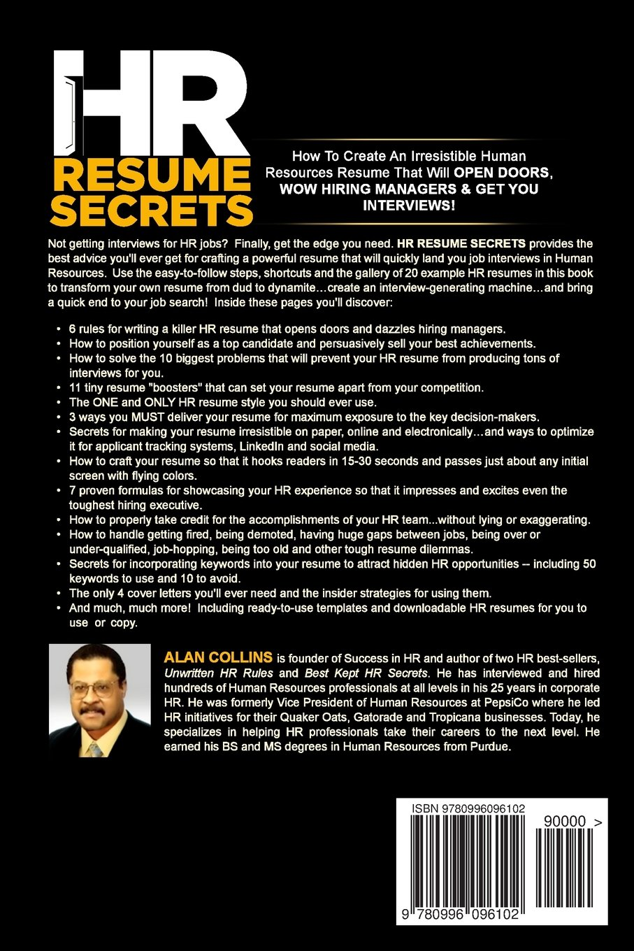 HR Resume Secrets: How To Create An Irresistible Human Resources ...